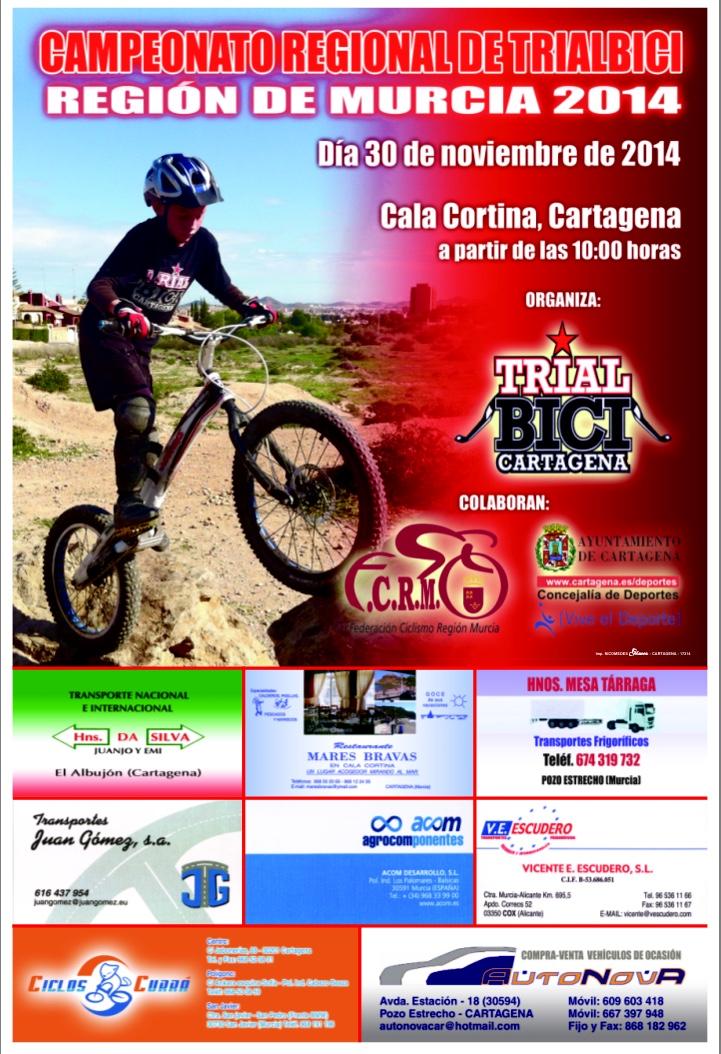 Campeonato Regional De Trialbici – Región De Murcia 2014